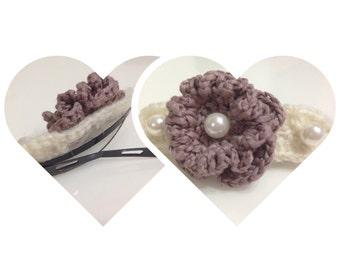 Crochet hair pins**