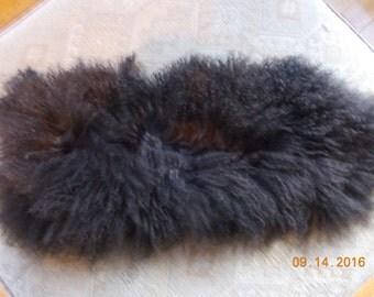 Mongolian lamb wool pelt