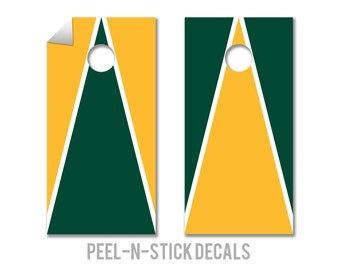 Baylor Colors Cornhole Board Decals