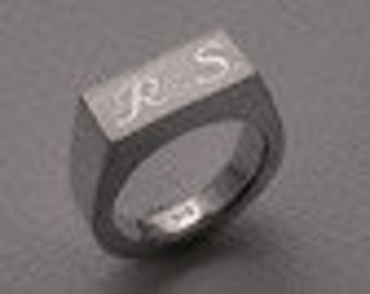 Sealing ring made of 925 sterling silver solid
