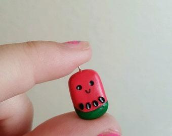Watermelon Kawaii charm