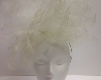 Ivory Crin headpice (Used once in a shoot for Vogue)