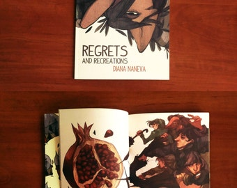 Regrets and Recreations Art Book