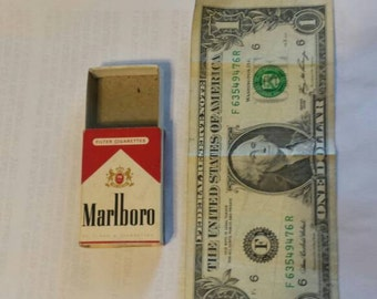 Marlboro match box