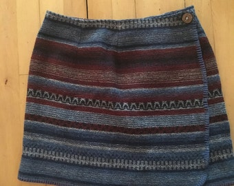Vintage Knit Size 12 Skirt
