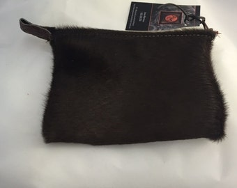 Hair on Hide Pouch