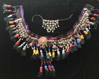 Beautiful Traditional Uzbekistan Belly Dance Wear & Choker