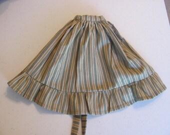Doll Apron, Rag doll apron, ragdoll apron, cloth doll apron, doll apron, doll clothes