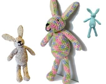 Rabbit amigurumi crochet pattern PDF