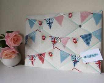 Handmade Fabric Notice Board / Memo Board / Message Board