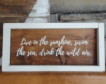 Inspirational Wood Sign | Home Decor | Rustic Decor | Farmhouse Decor | Shelf Sitter |