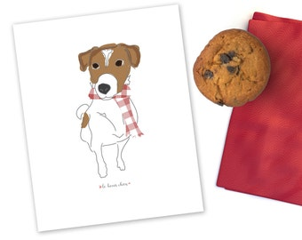 Le Beau Chien - Jack Russell Terrier Printable