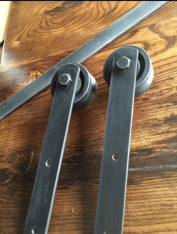 Heavy Duty Sliding Barn Door Hardware From Vintagevinedesignsfl On Etsy Studio