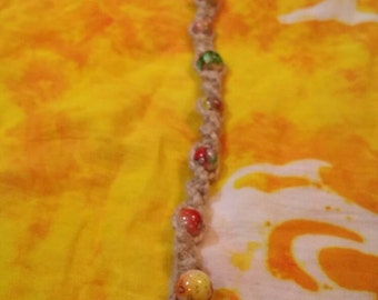 Nature colored anklet