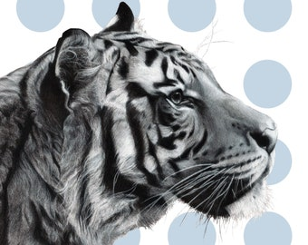 Home Decor // Wild Hues { Tiger Lily } 30x30cm // Fine Art Print