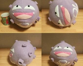 Pokemon Koffing plush handmade
