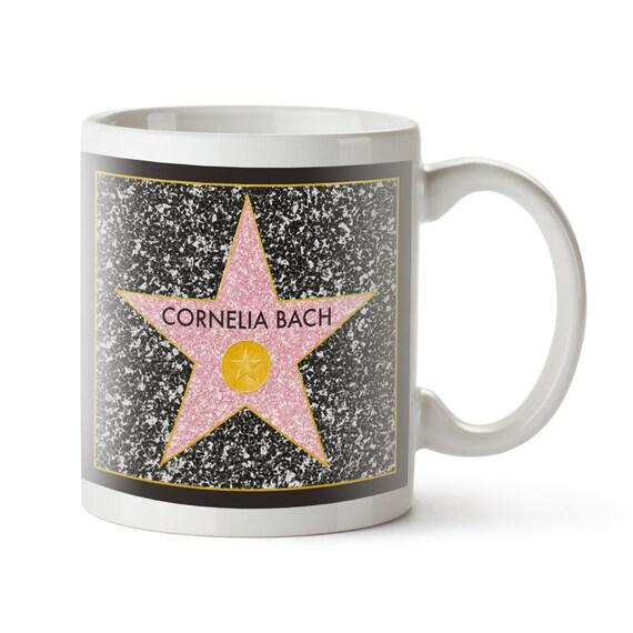 Personalised Mug – Star of Fame – Coffee Mug with Your Name