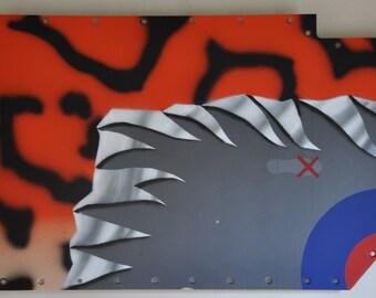 RAF Sepecat Jaguar NOSE ART panel