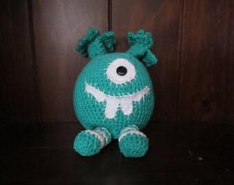 Crochet Monster - Green