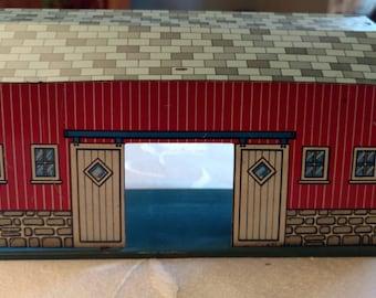 Vintage Tin Barn