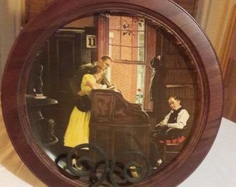 Vintage Norman Rockwell Collector's Plate