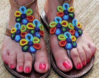 Colorful Sandals, Gladiator leather sandals, Women strappy sandals, Summer gladiator sandals, Greek handmade sandals, Hippie sandals