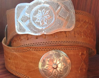 Moroccan belt- Laced Concho