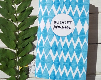 Midori Insert, Expense insert, Budget Planner, Financial Planner, Midori Traveller's Notebook, planner insert, savings tracker bill tracker