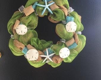 """Beach Wreath 15"""""""