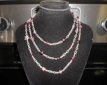 Long Necklace. . . Can Be Worn Several Different Ways
