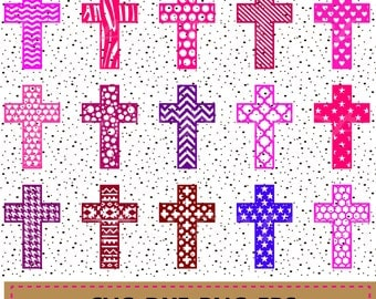60 % OFF, Cross SVG, Christian Cross Cut Files,  png, eps, dxf, svg, ai, Christian svg Files, Cross Pattern svg. Crosses cutting files