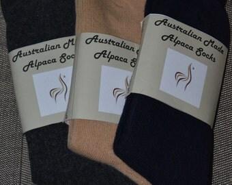 Australian Alpaca socks - Mens
