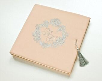 Custom Wedding Guest Book FREE SHIPPING