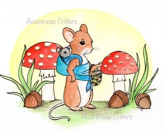 Mary & Anne Mouse, Awareness Critters