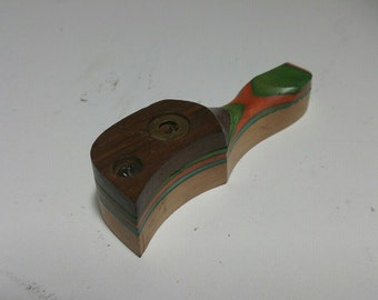 Green Wooden Pipe