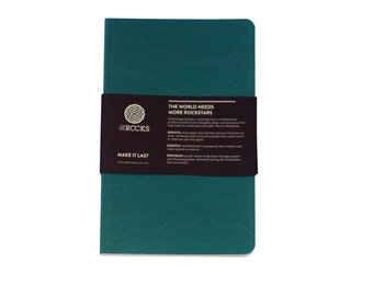 Notebook from stonepaper - Rockbook Turquoise!
