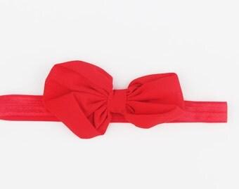 Red headband. Baby red headband. Birthday headband. Girls headbands. Kids headband. headband.