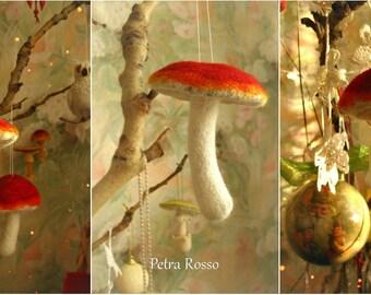 Mushrooms (Christmas tree  decorations)