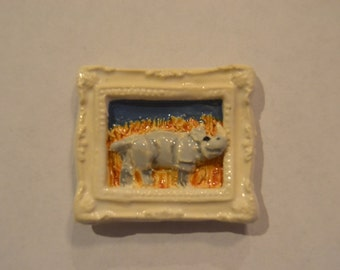 Tiny Rhino Magnet