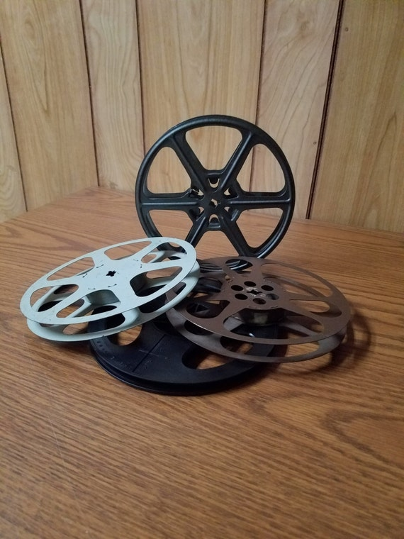 Four Vintage Movie Reels