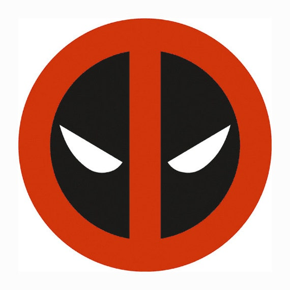 deadpool superhero layered svg dxf png eps logo vector file dxf clipart free downloads dxf clip art software