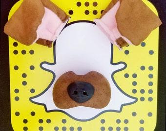 Snapchat Dog Filter Costume