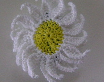 Small Daisy Barrette 1 1/2 Inch