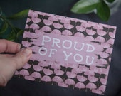Greeting Card, Proud of You, Blank Inside