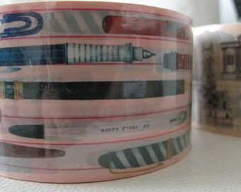 PENS & PENCILS Thick Deco Masking Tape