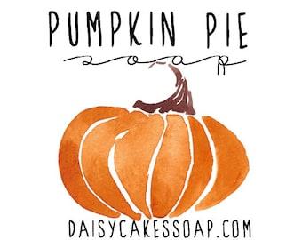 Pumpkin Pie Soap, A Seasonal Gritty Hand Soap