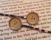 Harry Potter Stars - Hair Pin Pair, Harry Potter Gift, Book Gift, Bobby Pins