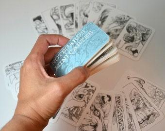 Mini cards booklet