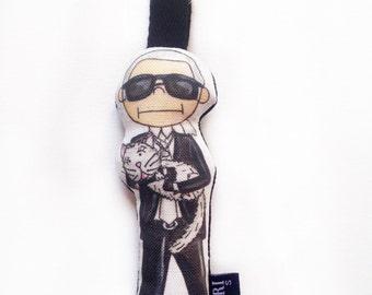 Mini Karl Lagerfeld Doll Bag Charm