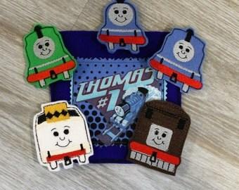 Thomas the Train Inspired Finger Puppet Set